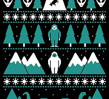 Paranormal Christmas Sweater by Teo Zirinis