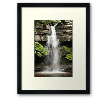 Summerhill Force, Bowlees Beck County Durham England Framed Print