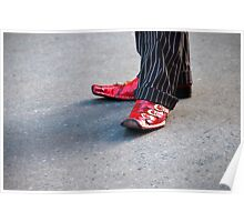 Dapper Dan and His Red Shoes Poster