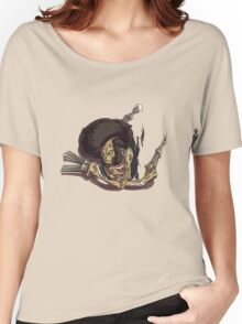 Beware of the Afro Ninja Zombie Women's Relaxed Fit T-Shirt