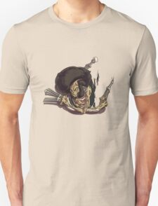 Beware of the Afro Ninja Zombie Unisex T-Shirt