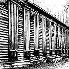 Old Tobacco Barn by RebeccaBlackman