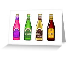 Beer Beer Beer Greeting Card
