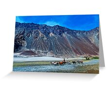 The Beauty of Nature in Laddakh-2/2011 Greeting Card