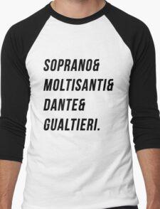 Soprano Men's Baseball ¾ T-Shirt