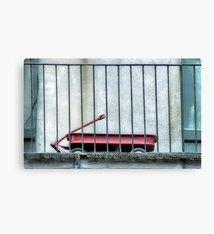 Lil Red Wagon Canvas Print