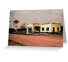 West Texas Diner Greeting Card