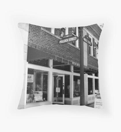 Birth Place of Pepsi - New Bern, NC Throw Pillow