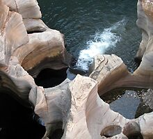 Bourke's Luck Potholes  by Elizabeth Kendall