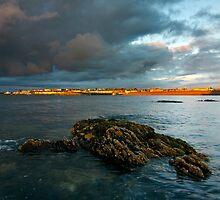 Bangor at sunset by Przemek Czaicki