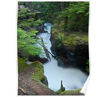 Avalanche Gorge Poster