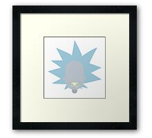"Rick from ""Rick & Morty"" Framed Print"