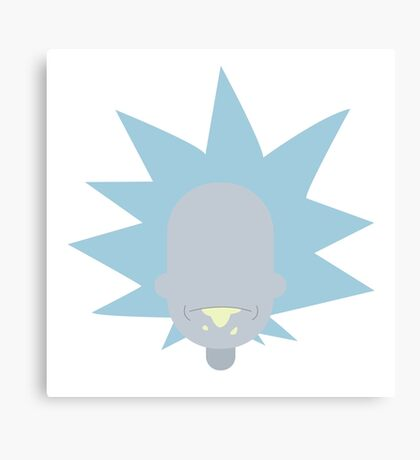 "Rick from ""Rick & Morty"" Canvas Print"