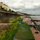 The Dawlish Sea Wall by Rob Hawkins