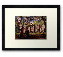 Sheldon Ruins Framed Print
