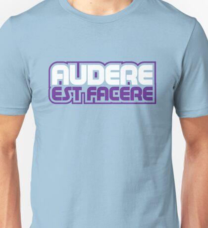Spurs Latin Motto T-shirt Light Blue Unisex T-Shirt