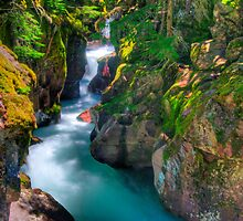 Avalanche Gorge II by Gary Lengyel