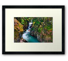 Avalanche Gorge II Framed Print