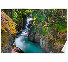 Avalanche Gorge II Poster