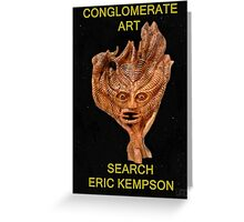 conglomerate art  Greeting Card