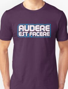 Spurs Latin Motto T-shirt Purple T-Shirt