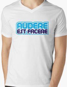 Spurs Latin Motto T-shirt Mens V-Neck T-Shirt