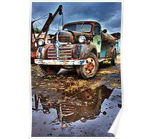 Vintage Dodge Tanker Truck  Poster