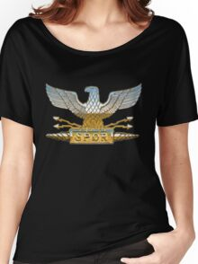 Legion Eagle Chrome Women's Relaxed Fit T-Shirt
