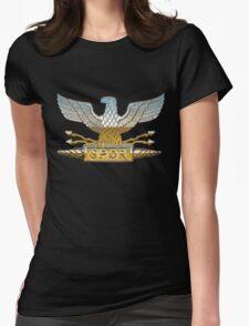Legion Eagle Chrome Womens Fitted T-Shirt