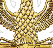 Legion Eagle Gold Sticker