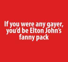 Elton John's fanny pack by juhsuedde