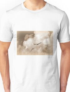 seagull fly in the sky Unisex T-Shirt