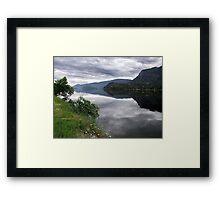 Lake Mara (1) Framed Print