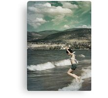 Memories of Childhood Vacations Canvas Print