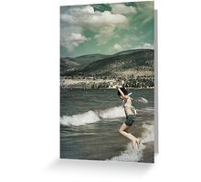 Memories of Childhood Vacations Greeting Card
