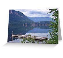 Lake Mara (2) Greeting Card