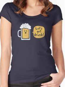 Drinking Buddy Women's Fitted Scoop T-Shirt