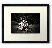 CHILDREN OF YOGYAKARTA Framed Print