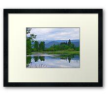 Lake Mara (5) Framed Print
