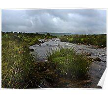 Dartmoor Weather Poster