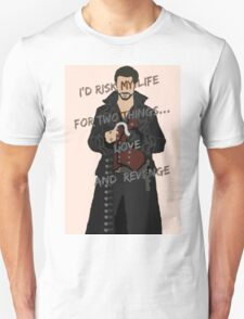 Once Upon A Time Captain Hook/Killian Jones Unisex T-Shirt