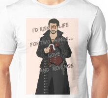 Once Upon A Time Captain Hook/Killian Jones Unisex T-Shirt