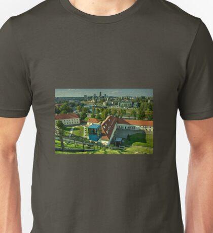 Vilnius Skyline  Unisex T-Shirt