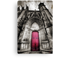 Carcassonne Cathedral Canvas Print