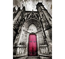 Carcassonne Cathedral Photographic Print