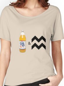 Colt 45 & 2 Zig Zags Women's Relaxed Fit T-Shirt