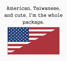 American Taiwanese And Cute Kids Clothes