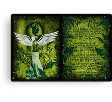 GREEN HOPE Canvas Print