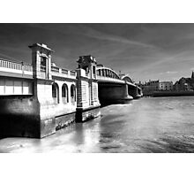 Rochester Bridge (infra red) Photographic Print