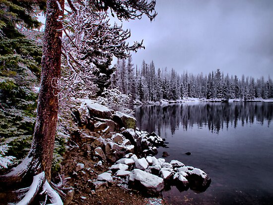 It Might Get Cold by Charles & Patricia   Harkins ~ Picture Oregon